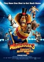 Мадагаскар 3 — Madagascar 3: Europe's Most Wanted (2012)